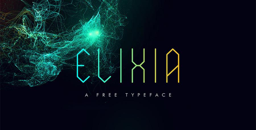 Elixia_font