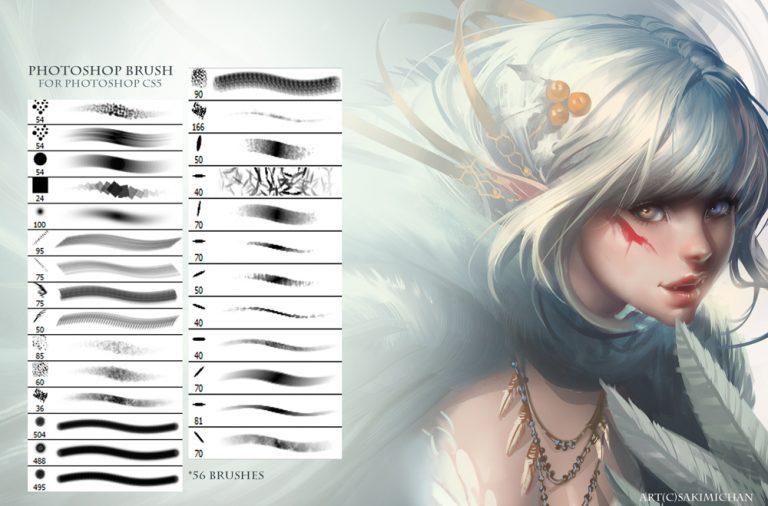 Sakimichan_artist_Photoshop_Brushes