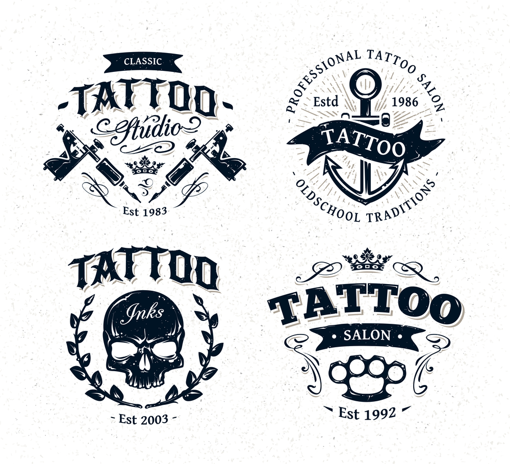 Free Tattoo Logo Maker Online Tattoo Shop Logo Generator And Creator Tattoo Artist Logo Design Ideas Template